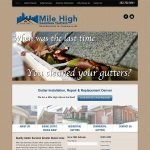 Mile High Seamless Gutters Thumbnail